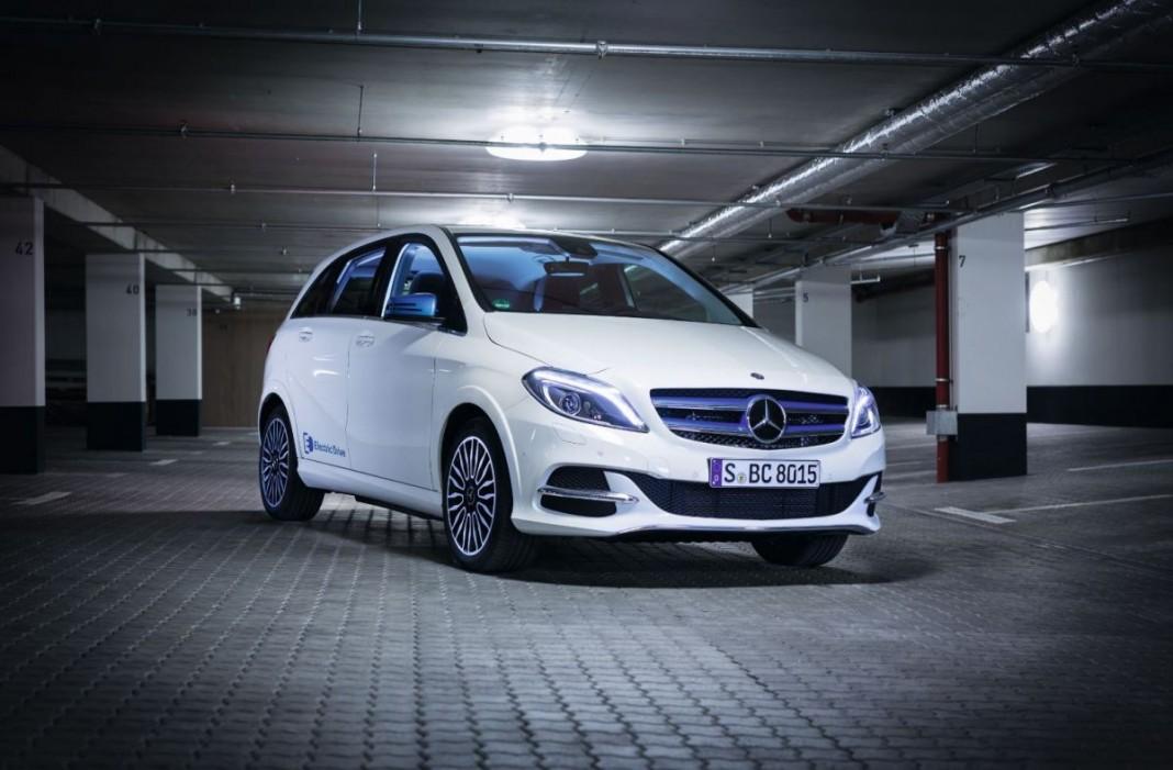 Электрокар Mercedes B-Class Electric Drive: примеряем на себя