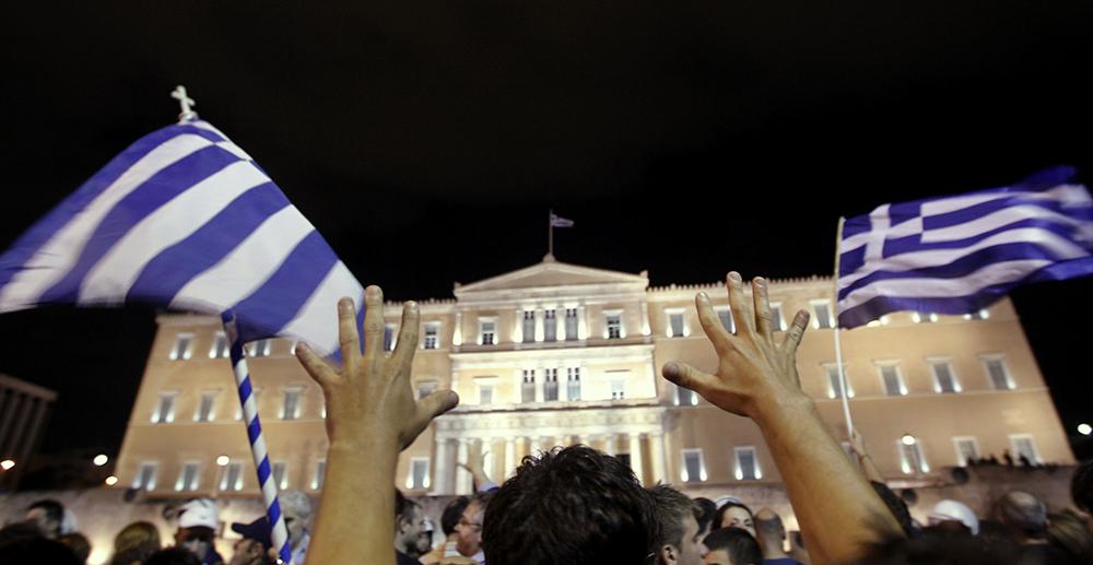 #greekrevolution (©Reuters)