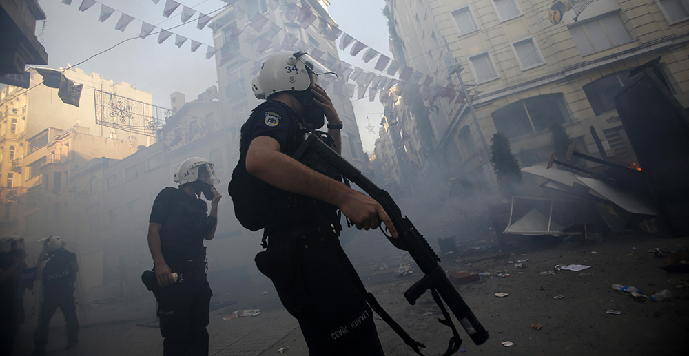 #occupygezi (©Reuters)