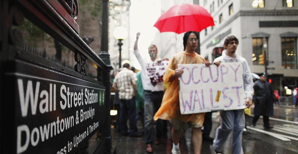 #occupywallstreet (©Reuters)