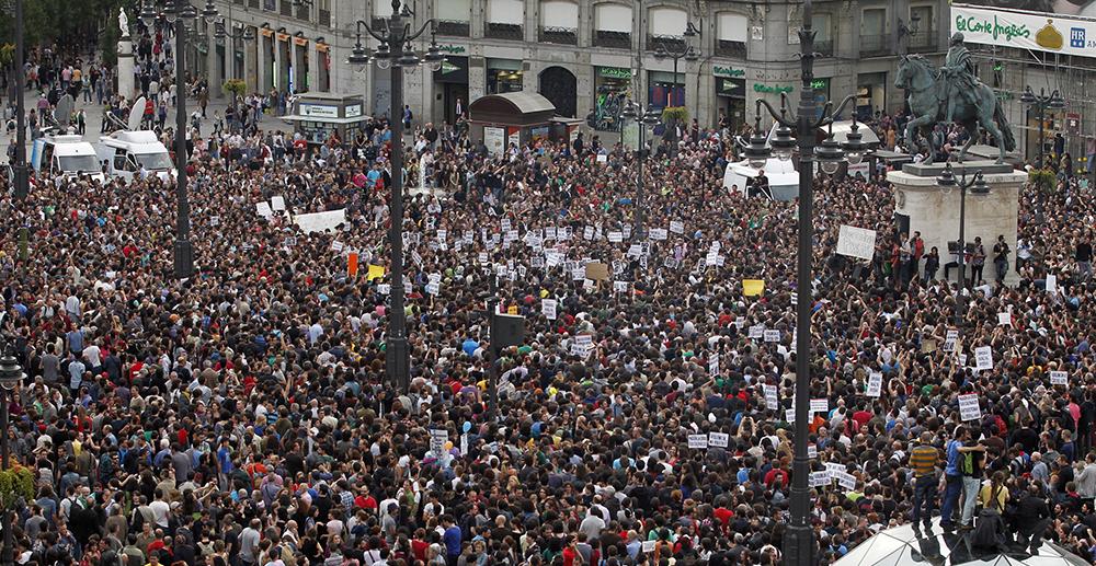 #spanishrevolution (©Reuters)