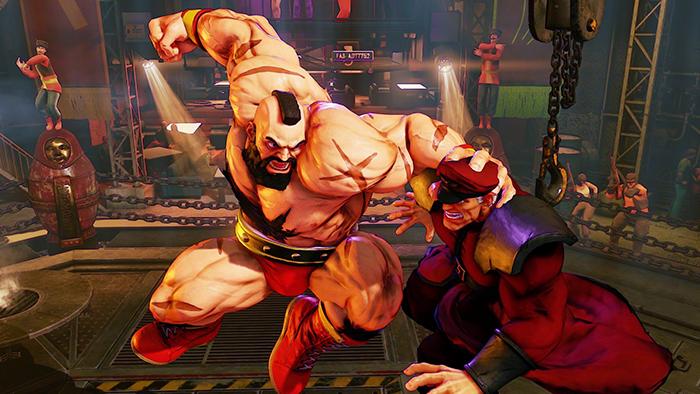 Street Fighter 5 — Зангиев
