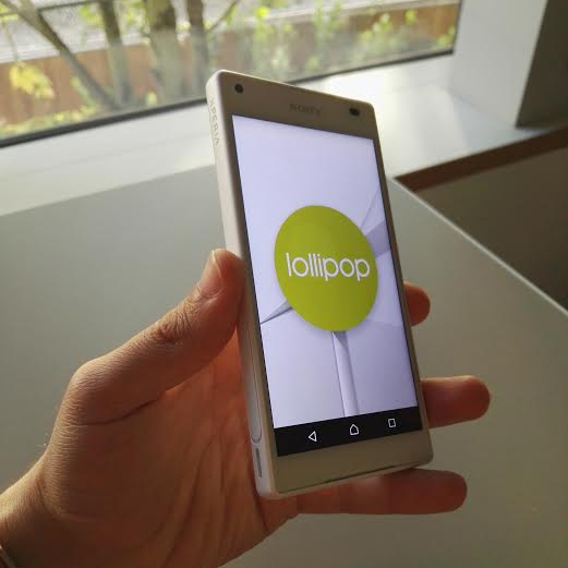 Sony Xperia Z5 Compact: Android 5.1.1