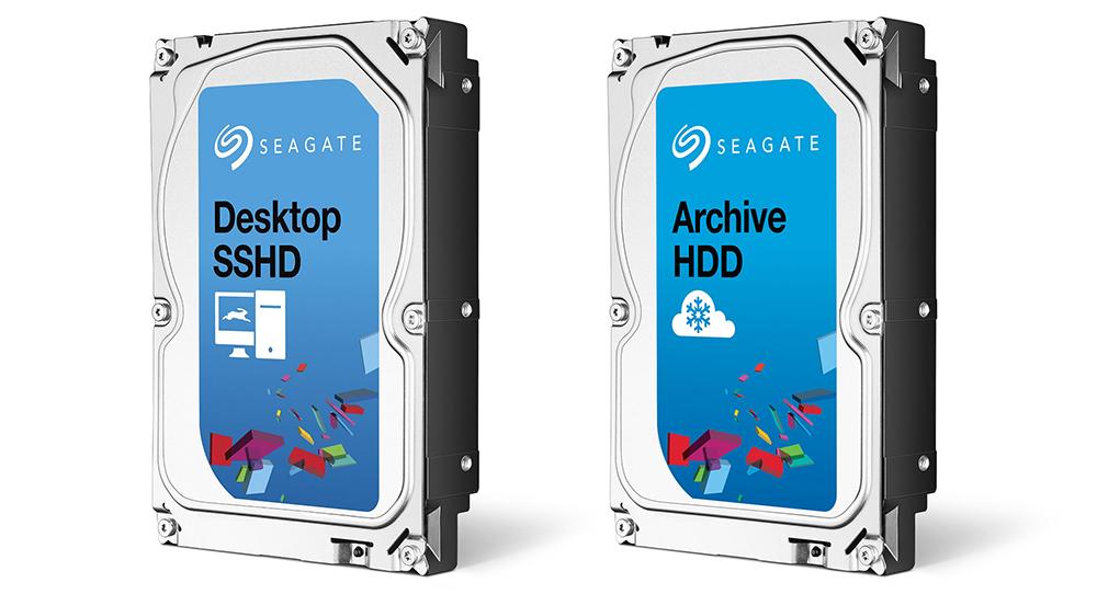 Seagate Desktop SSHD 2TB и Seagate Archive HDD