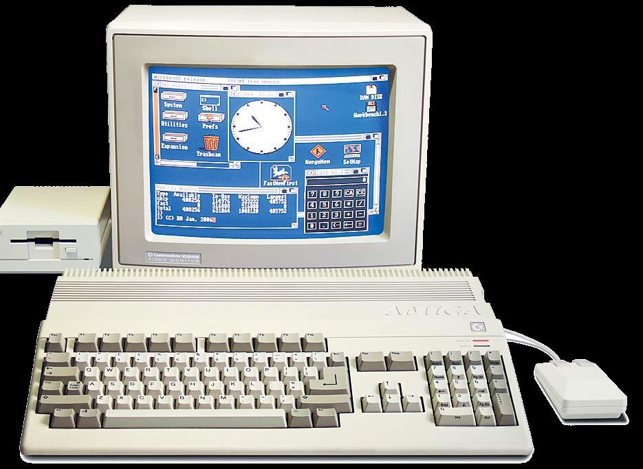 Amiga: легенда среди компьютеров