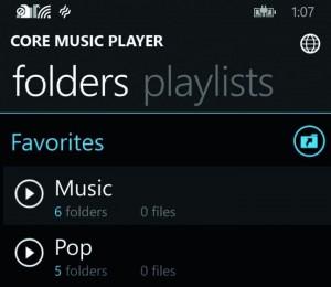 Core Music Player