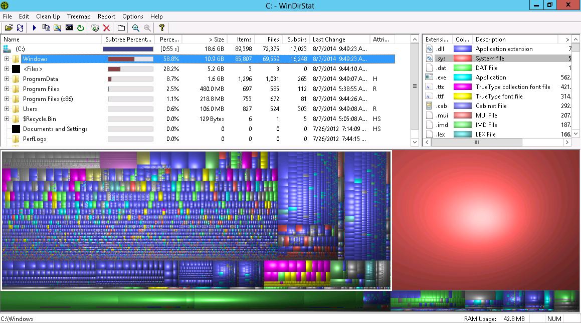 Очистка накопителя данных