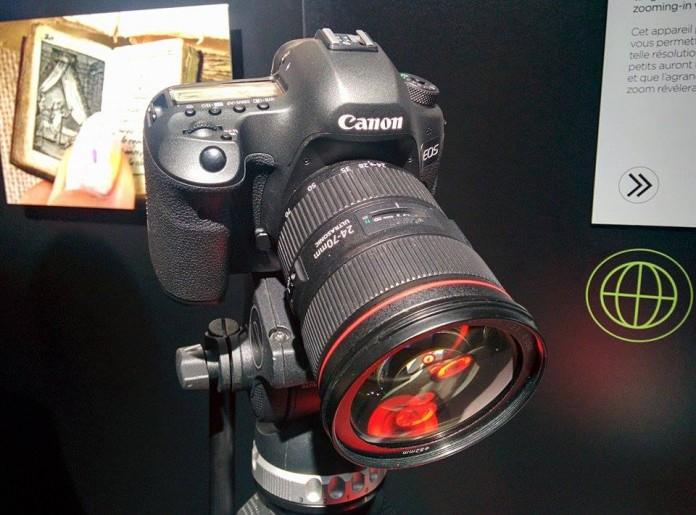 120 Мпикс зеркалка Canon EOS поражает своим экстремально высоким разрешением