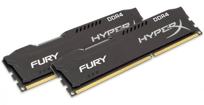 Обзор комплекта памяти HyperX Fury DDR4