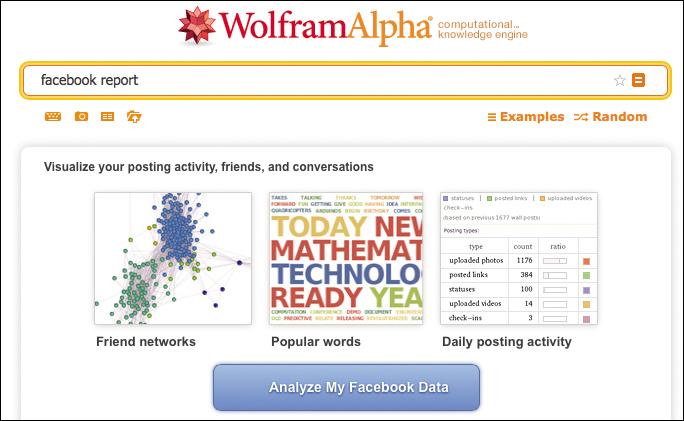 Анализируем профиль в Facebook