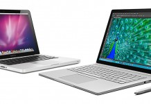 Surface Book vs. MacBook Pro