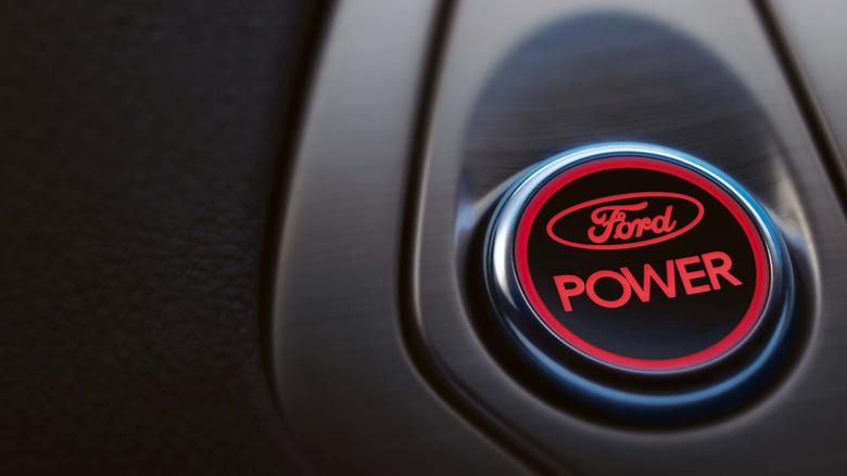 Кнопка стартера Ford Power позволяет запустить двигатель без использования ключа зажигания.