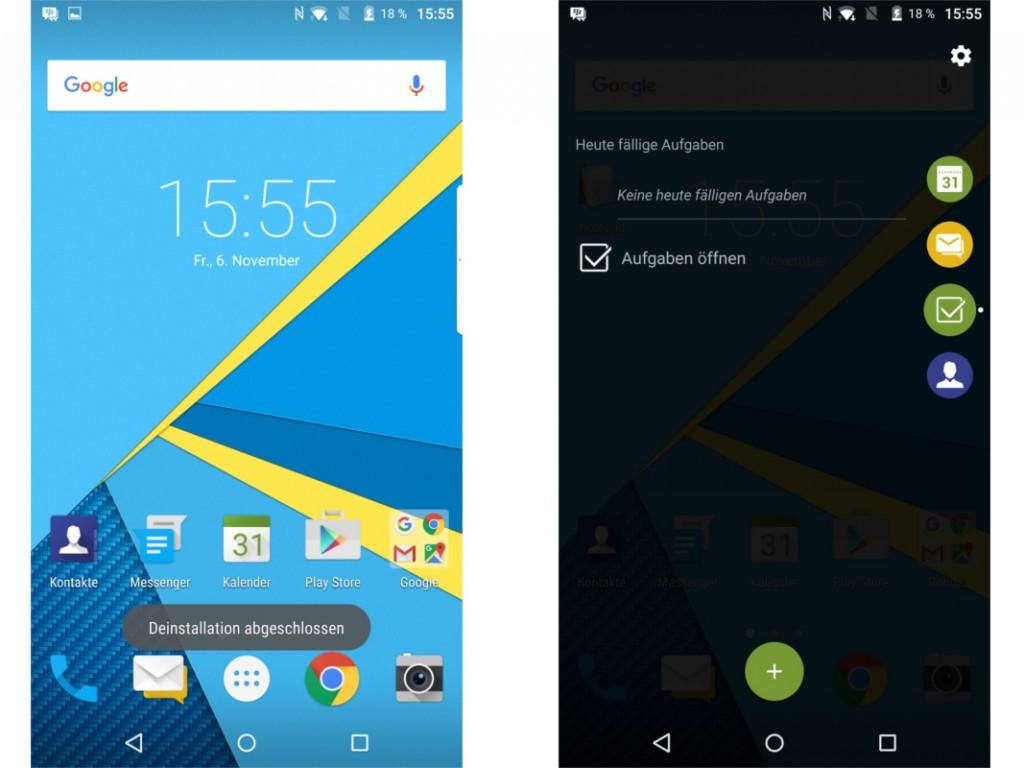 Android на BlackBerry Priv