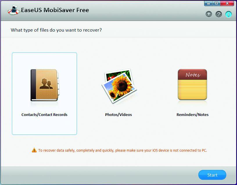 EaseUS MobiSaver поможет легко и просто восстановить важные файлы с iPhone и Ко.