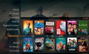 При необходимости Plex отображает дополнительную информацию о каждом фильме или серии