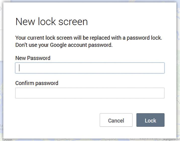Блокировка экрана длинным паролем убережет пользовательские данные от попадания в руки посторонних людей