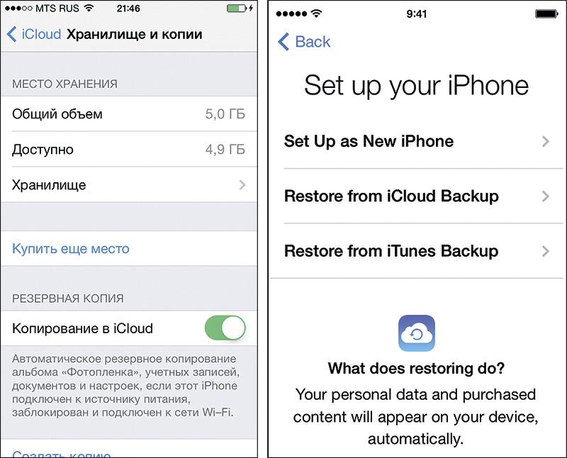 Iphone 6s как сделать резервную копию