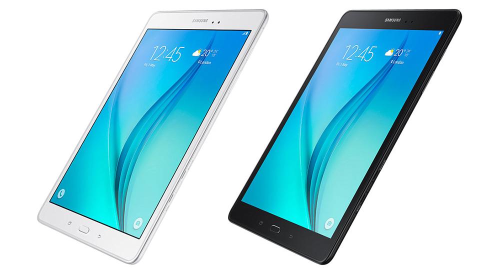 Samsung Galaxy Tab A 9.7 LTE: Устройство доступно в черной и белой расцветке.