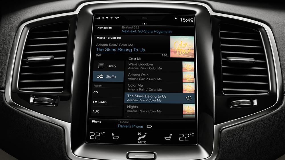 Система Sensus Connect создана для удобного и интуитивного управления бортовым компьютером вашего автомобиля.