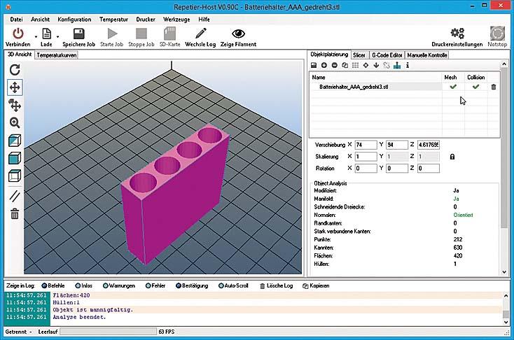 Приложение, используемое для устройств iRapid и Velleman, обладает большим набором функций
