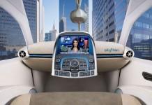 Skytran, «подвесной» поезд