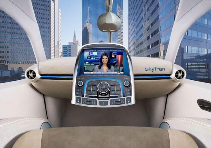 Общественный транспорт будущего: капсулы на магнитной подвеске Skytran