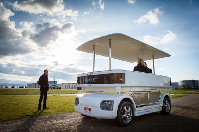 Общественный транспорт будущего: автомобили-роботы