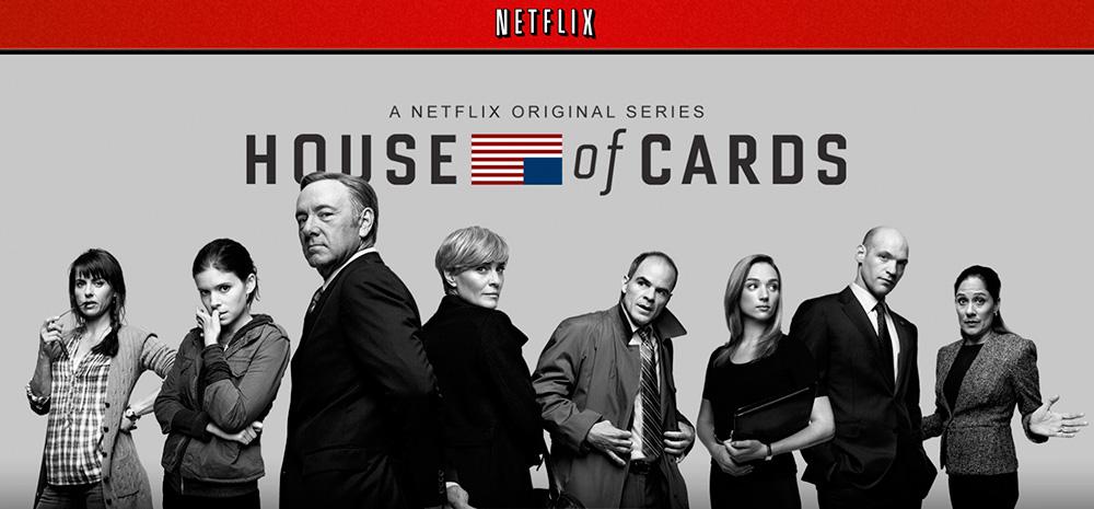 Несколько эпизодов сериала «Карточный домик» производства компании Netflix были доступны для загрузки уже в течение недели после трансляции.