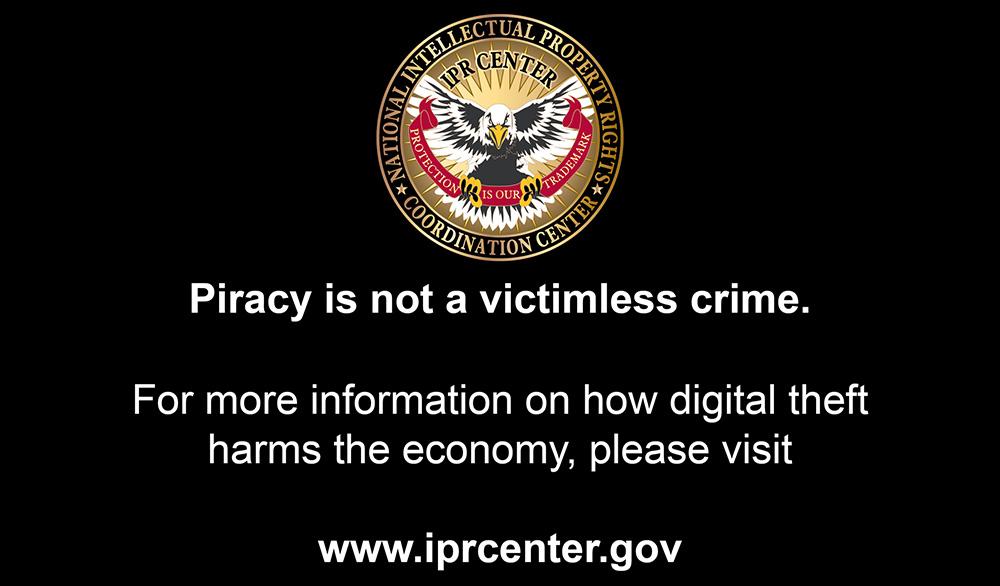 DVD Anti-Piracy Warning