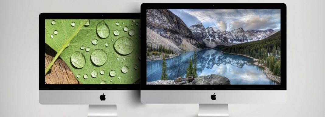 Битва моноблоков iMac: 4K против 5K
