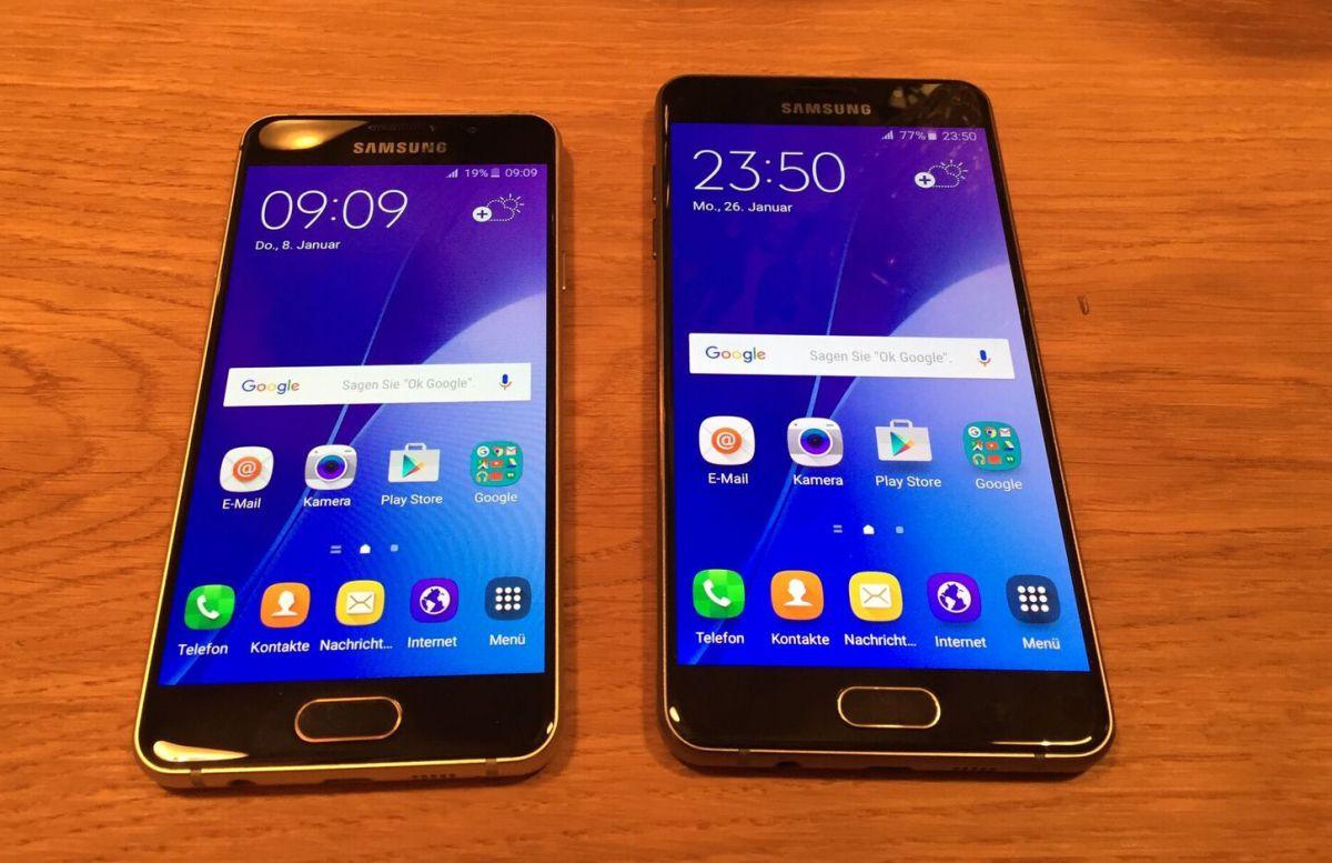Samsung Galaxy A3 и A5
