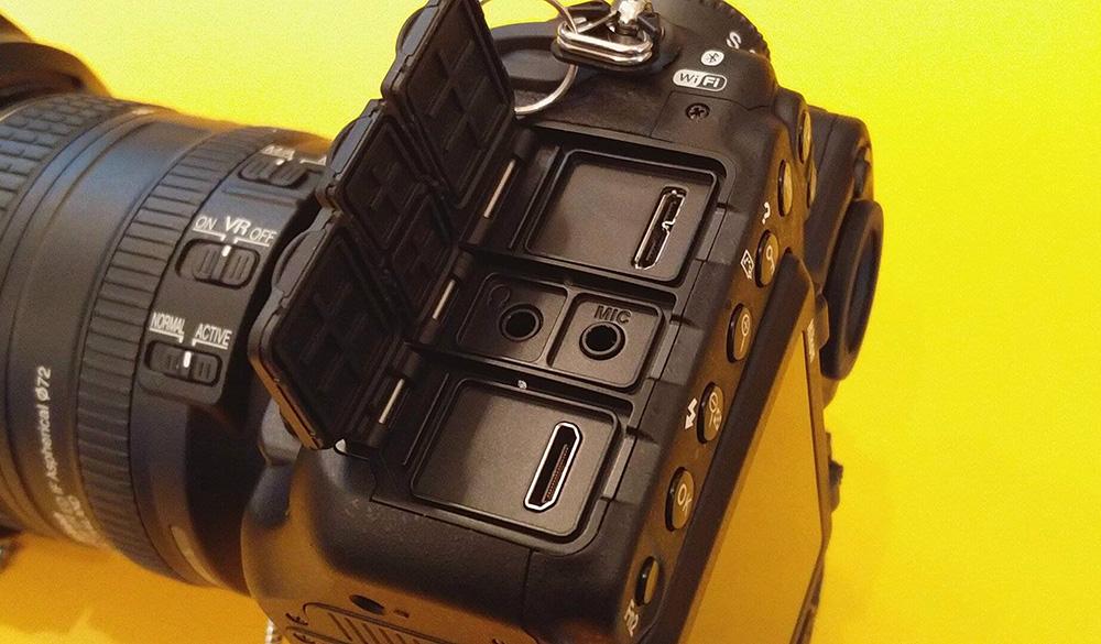 Nikon D500: USB 3.0 позволяет быстро переносить данные на компьютер.