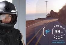 Шлем BMW с Head-Up-дисплеем