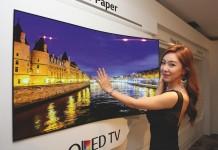 LGD OLED Wallpaper TV