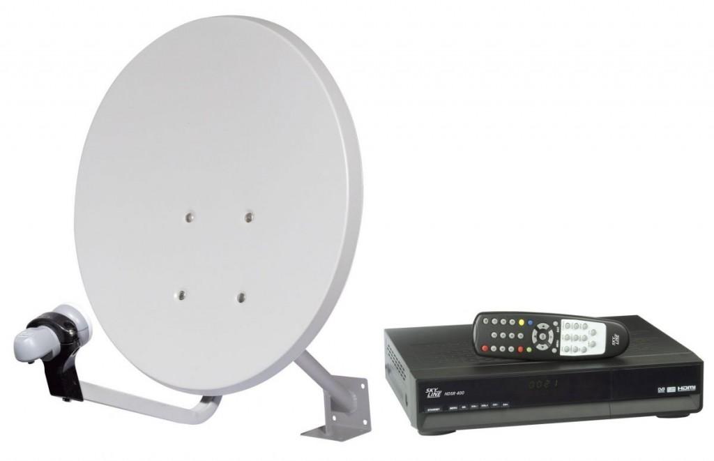 Спутниковый набор «тарел- ка + декодер» позволят обе- спечить квартиру или дачу цифровым ТВ в HD-качестве