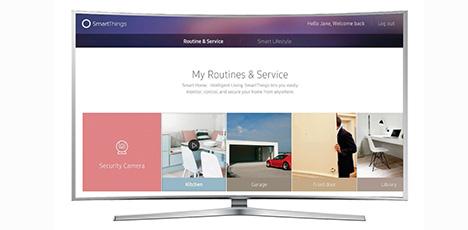 Samsung TV: новая оболочка «Smart Things» будет в каждом новом устройстве