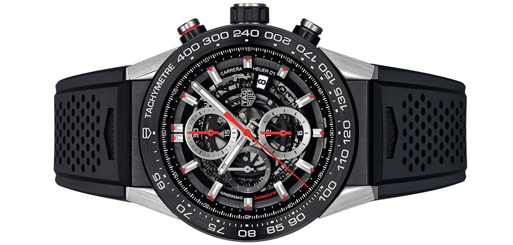 TAG Heuer Carrera: Через два года вы сможете поменять часы Connected на часы Carrera (на фото).