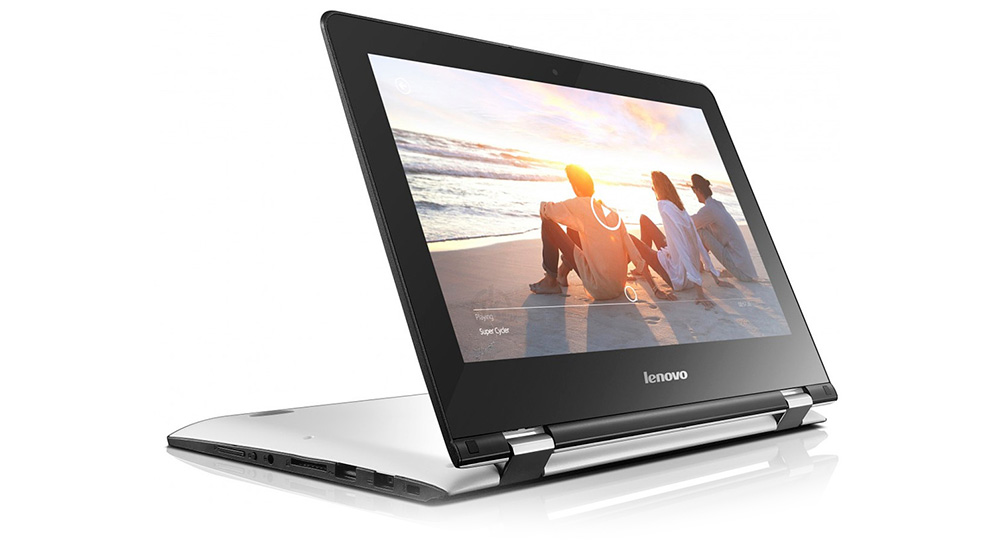 Lenovo Yoga 300-11IBY: яркий дисплей с хорошей контрастностью.