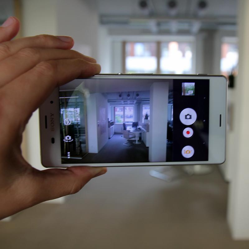 Sony Xperia Z3: смартфон делает прекрасные 20-мегапиксельные снимки.