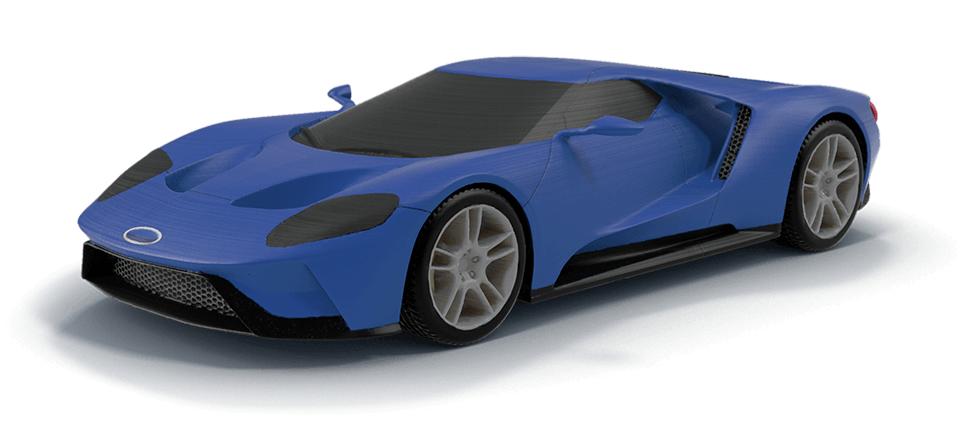 Владельцы 3D-принтеров могут приобрести уменьшенные копии автомобилей Ford в официальном магазине The Ford 3D Store и напечатать их.