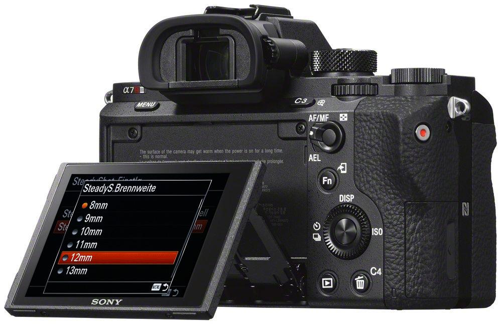 Sony Alpha 7R II: У камеры нет откидной вспышки, но зато есть горячий башмак.