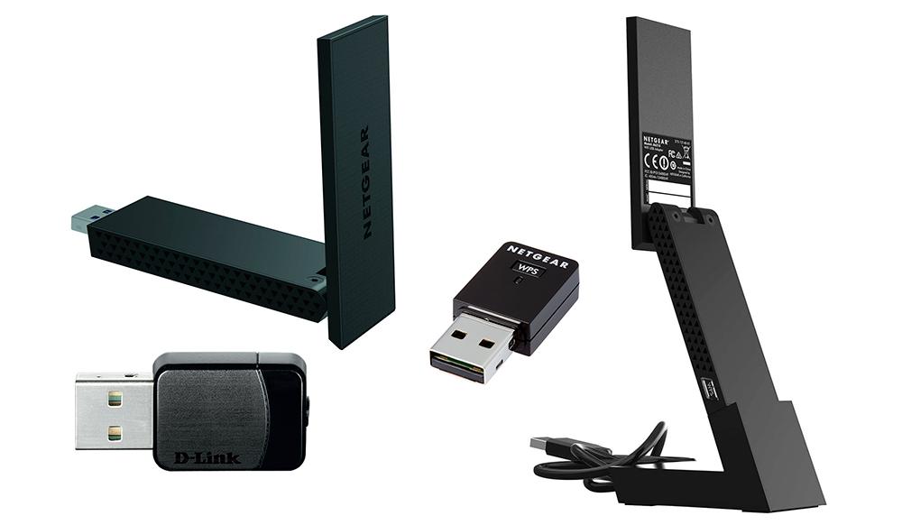 Мини-устройства USB, например, D-Link DWA-171, достаточно практичны. Но у них нет большой антенны, обеспечивающей хорошее соединение на больших расстояниях. Лучшие условия предоставляет относительно объемное устройство Netgear A6210, которое к тому же можно устанавливать вертикально при помощи входящей в комплект подставки и USB-кабеля.