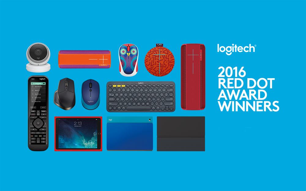 Logitech Red Dot Award