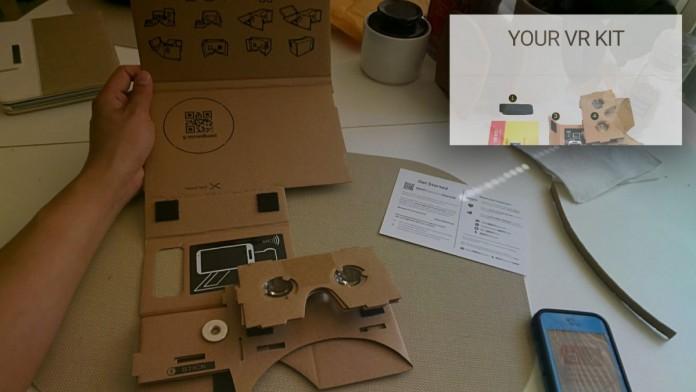 Тест Google Cardboard: на картонке в страну чудес