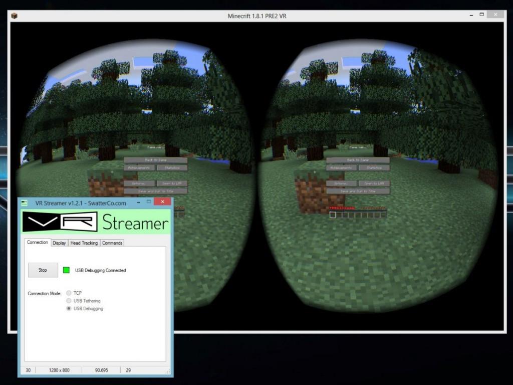 VR Streamer: трансляция 3D-игр на VR-очки