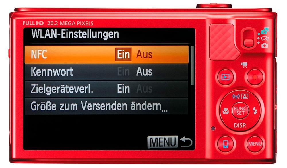 Canon PowerShot SX610 HS: Отключенный Wi-Fi позволит дольше сохранить заряд аккумулятора.