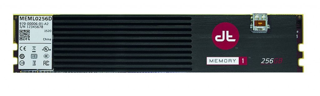 Новый стандарт NVDIMM подразумевает расположение чипов флеш-памяти на модуле ОЗУ, объединяя, таким образом, обе технологии. Появление первых продуктов NVDIMM (например, Diablo Memory 1) ожидается в 2016 году