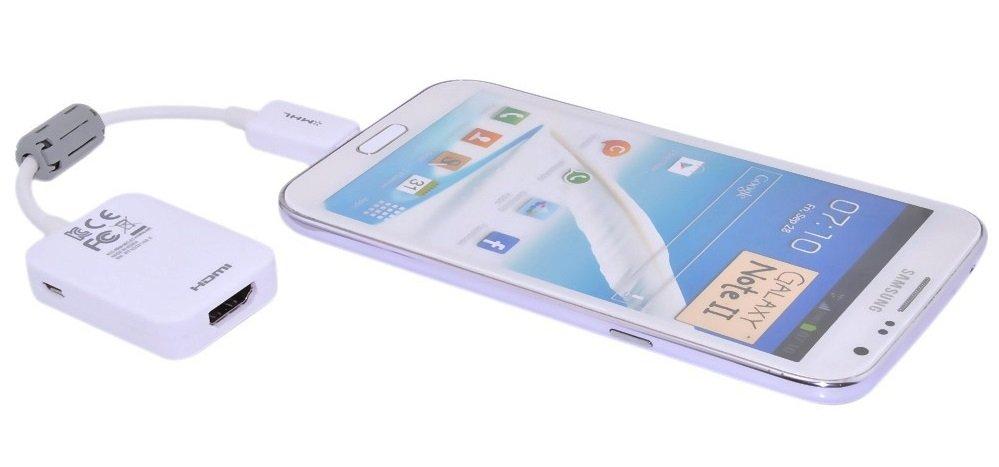 Samsung Galaxy S5 имеет функцию передачи контента на TV через MHL