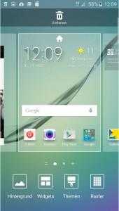 интерфейс Samsung Galaxy S6 Edge