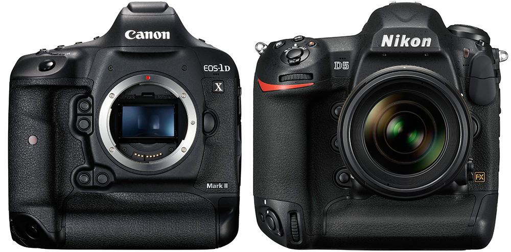 Canon EOS 1D X Mark II vs Nikon D5: Кто же станет победителем?